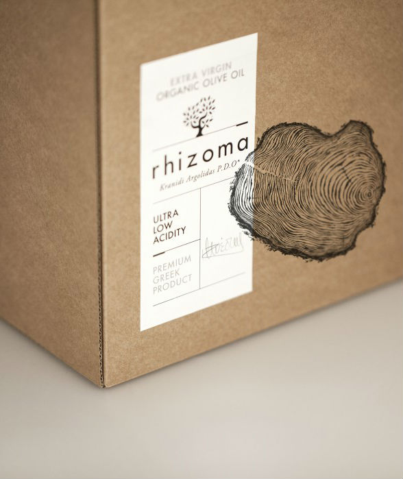 Rhizoma Olive Oil in boxes of 9 each